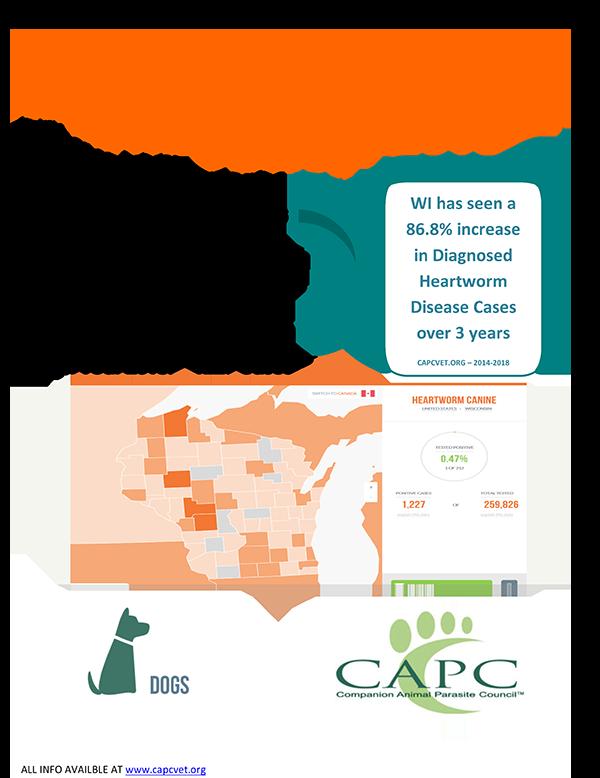Heartworm disease in Wisconsin
